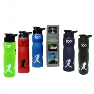 H2O Stainless Steel Water Bottle 750ml SB104