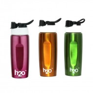 H2O Stainless Steel Water Bottle 600ml SB161