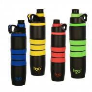 H2O Stainless Steel Water Bottle 650ml SB502