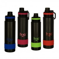H2O Stainless Steel Water Bottle 750ml SB504
