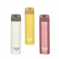 H2O Stainless Steel Water Bottle 500ml SB507