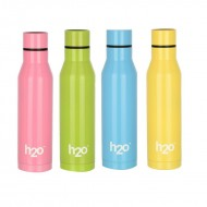H2O Stainless Steel Water Bottle 550ml SB508