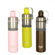 H2O Stainless Steel Water Bottle 550ml SB517