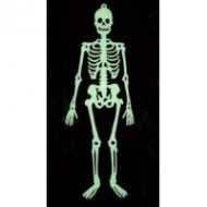 Halloween Glow Skeleton 30 Inch