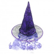 Halloween Purple Witch Hat