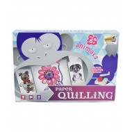 Paper Quilling Kit-Animals