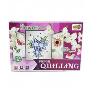 Paper Quilling Kit - Flowers