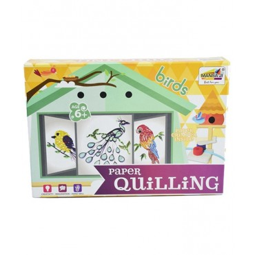 Paper Quilling Kit - Birds