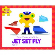 Imagimake Jet Set Fly Paper Planes with Drift