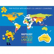 Imagimake Worlds Largest Countries Top 25 countries of the world