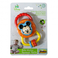 Disney Baby Mickey Squeezer Rattle