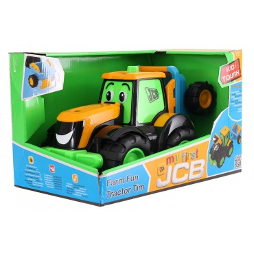 My 1st JCB Fun Farm Tractor Tim