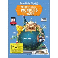 Smartivity EDGE Magnificient Wonders of the World Colouring Sheets