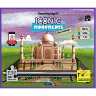 Smartivity EDGE Iconic Monuments Magic Jigsaw Puzzle