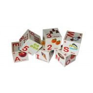 Anindita Learning Cube Alphabets & Numbers