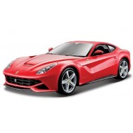 Bburago 1:24 Ferrari F12 Berlinetta - Red