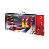 Bburago 1:43 Ferrari Race & Play Dual Loop Set