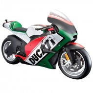 Maisto Moto GP Ducati World Cycle Series 1:6 Scale Model Bike - Red & Green