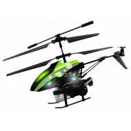 Modelart 4.5 Channel Helicopter with bubble Shooting - Green