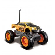 Maisto Remote Control Rock Crawler Junior Metallic - Blue