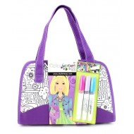 Style Me Up Colour Freedom Deluxe Purse Purple