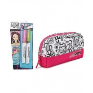 Style Me Up Colour Freedom Pencil Case Pink
