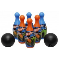 fun factory Hot Wheels 6 Pin Bowling Set