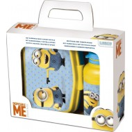 Minions Stor Value Set Plastic Tiffin Box, Yellow