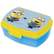 Minions Stor Funny Plastic Sandwich Box with Tray