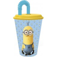 Minions Stor Value Sport 430ml Tumbler, Blue Yellow