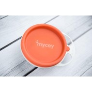 Mycey Plate with Lid - Orange