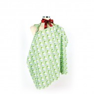 Mycey Nursing Apron - Grass Green
