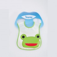 Mycey Stainproof Bibs Frog