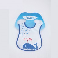 Mycey Stainproof Bibs Whale