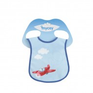 Mycey Stainproof Bibs Plane