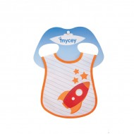 Mycey Stainproof Bibs Rocket