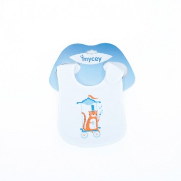 Mycey Ultra Soft Leakproof Doublesided Terrycloth Bibs - Tiger