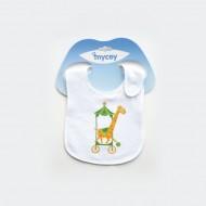 Mycey Ultra Soft Leakproof Doublesided Terrycloth Bibs - Giraffe