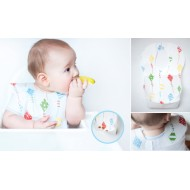 Mycey Disposable Baby Bibs - Pack of 10