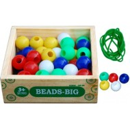 Little Genius Beads Big 50 Pieces