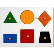 Little Genius Shape Board Tray