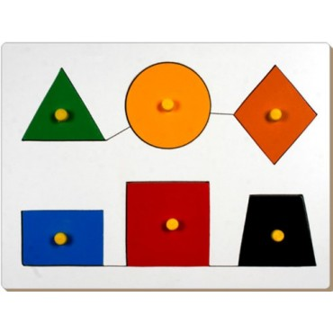 Little Genius Shape Board Tray