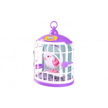 Winning Moves Little Live Pets Bird With Cage