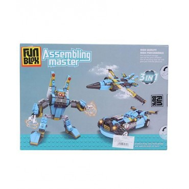 Fun Blox 3 in 1 Assembly Master 271 Pieces