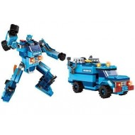 Fun Blox 2 in 1 Transformer Block Set 201pcs