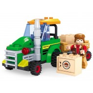 Fun Blox  Farm Tractor With Farmer 103Pcs