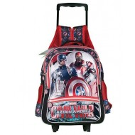 Captain America School Trolley Bag 16 Inch