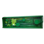 Wooden Pencil Box Green
