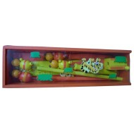 Wooden Pencil Box Orange
