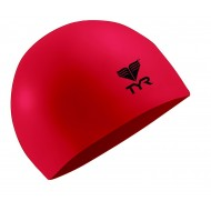 TYR Latex Swim Cap - Red